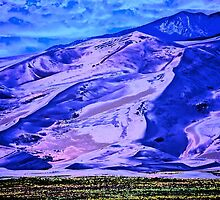 Abstract of my National Park Great Sand Dunes photo by Ann Reece