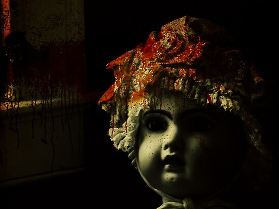 doll room crime scene 2 by leapdaybride