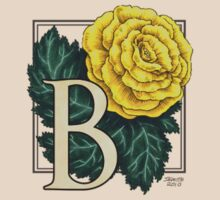 B is for Begonia - patch by Stephanie Smith