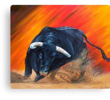 toro bravo Canvas Print
