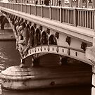 bridge over the Seine by DKphotoart