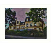 Haunted Castle (Top 10 Most Haunted on Yahoo) Art Print