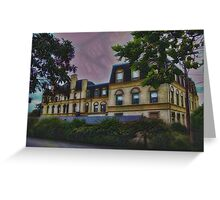 Haunted Castle (Top 10 Most Haunted on Yahoo) Greeting Card