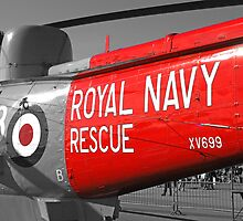 Royal Navy Rescue Helicopter by chris-csfotobiz