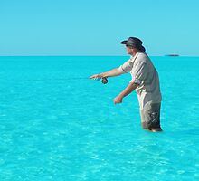Fly Fishing North-West Island, Central QLD by warmonger62