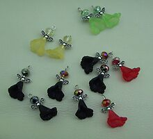 Angel charms by anaisnais