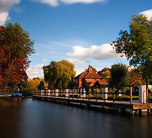 River Thames,Shiplake by Norfolkimages