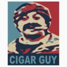 Cigar Guy  by Fred Seghetti