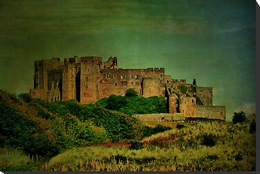 Bamburgh Castle #3 by Sandra Cockayne