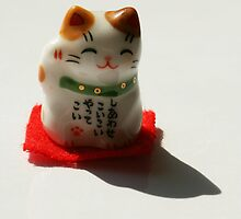 Lucky cat by cherryamber