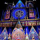 Lyon's Light Festival France - Church by patricia16