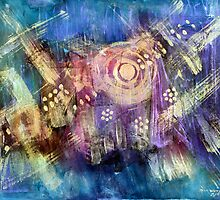 Star Ship Vortex by Don Wright