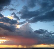 The Setting Sun and the Distant Rain by jsmusic
