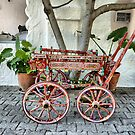 Painted Turkish Cart . by Lilian Marshall