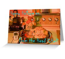The Head Chef Greeting Card
