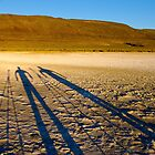Desert shadowglyphs... by Allan  Erickson