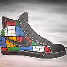 Rubik's Shoes by Garrett Nichols