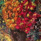 Two Tone Flower Abstraction by Ashley Huston