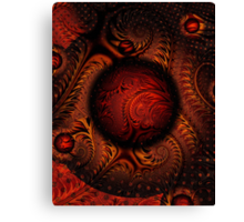 Tweak1 5 PONG 4-Golden Pong Brocade-wolfepaw + Parameter Canvas Print