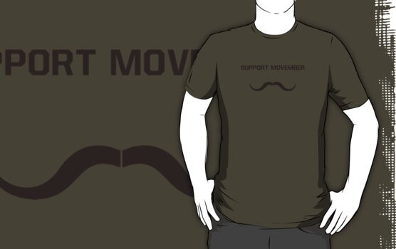 Movember: Support it! by nickwho
