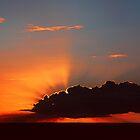 October Sunset by john Bellew