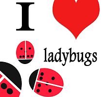 I heart ladybugs by almawad