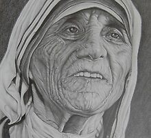 Mother Theresa  by paulcardenas