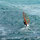 the lonely windsurfer by SUBI