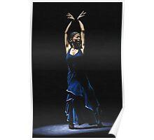 Bailarina a Solas del Flamenco Poster