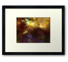 your love is an eternal autumn in my soul Framed Print