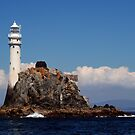 &#x27;Ireland&#x27;s Teardrop&#x27; - the Fastnet Rock and lighthouse by Orla Flanagan