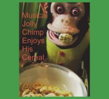 Jolly chimp enjoys His Cereal (Text version) by Margaret Bryant