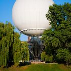 Big white baloon in Wroclaw, Poland by Dfilyagin