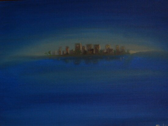 twilight city by rainbowvortex