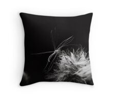 The release of the future Throw Pillow