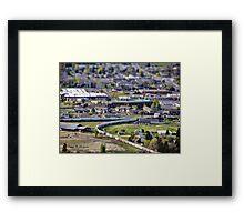 View of Kalispell Framed Print