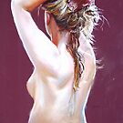 Nude Study (Pastel) by Lynda Robinson