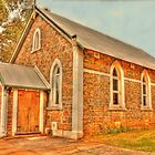 Uniting Church, Bridgetown, Western Australia by Elaine Teague
