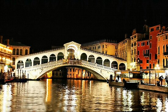Ponte Rialto by Barbara  Brown