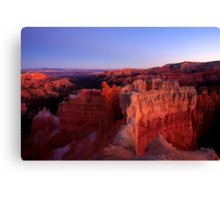 Temple of the Setting Sun Canvas Print
