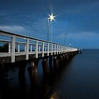 Wellington Point Jetty by Beth  Wode
