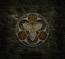 Celtic Shield by Packrat