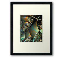 Kite Flyers-PW Tweak5 of Pong 4 Framed Print