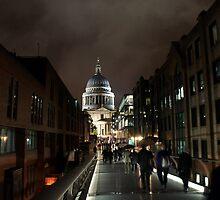 Millennium Bridge Walk by Paul Revans
