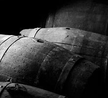 Old wine kegs by Rodrigo Sá da Bandeira
