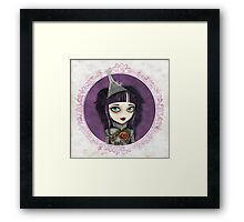 Tin Girl Framed Print