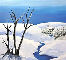 Snowy  Scene by rebfrost
