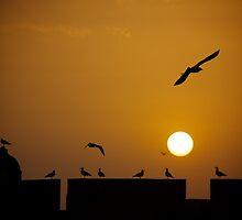 Sunset over Essaouira by EveW