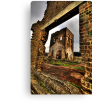 Framed In Time - Blast Furnace Park -, Lithgow NSW Australia - The HDR Experience Canvas Print