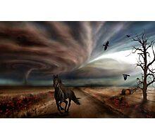 Like The Wind Photographic Print